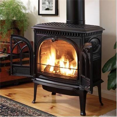 Contemporary Freestanding Fireplace from Jøtul