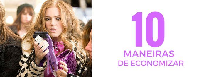 Novas ideias para economizar em tempos de crise! :http://blogchegadebagunca.com.br/10-maneiras-de-economizar/