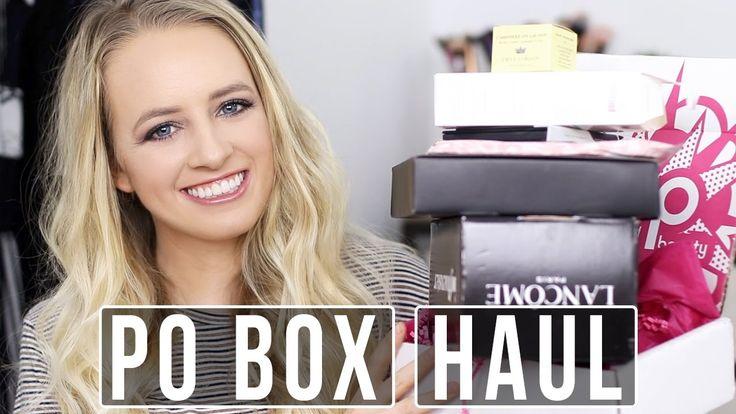 Po box try on makeup haul | Pixi, Pop Beauty, Lancome & more