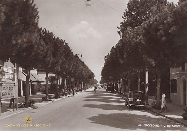 Cara Vecchia Riccione: Viale Ceccarini