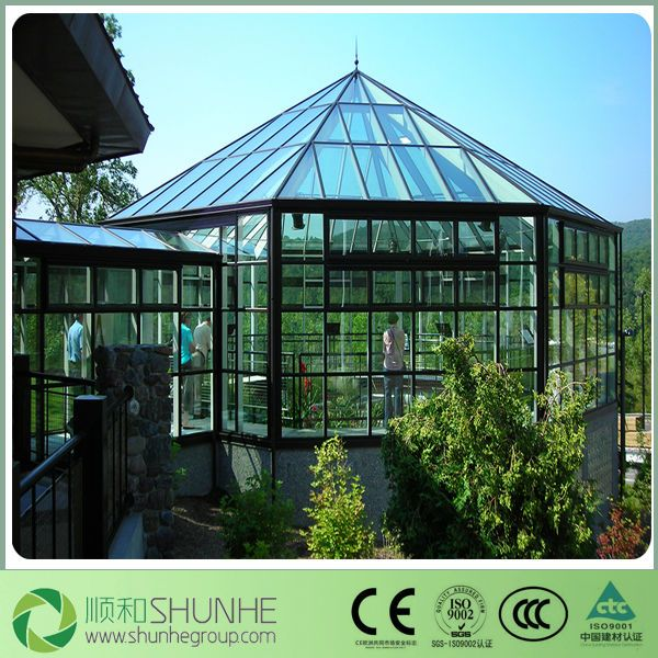 Low Cost Agricultural Greenhouse Glass For Sale Commercial Greenhouses Tempered Glass