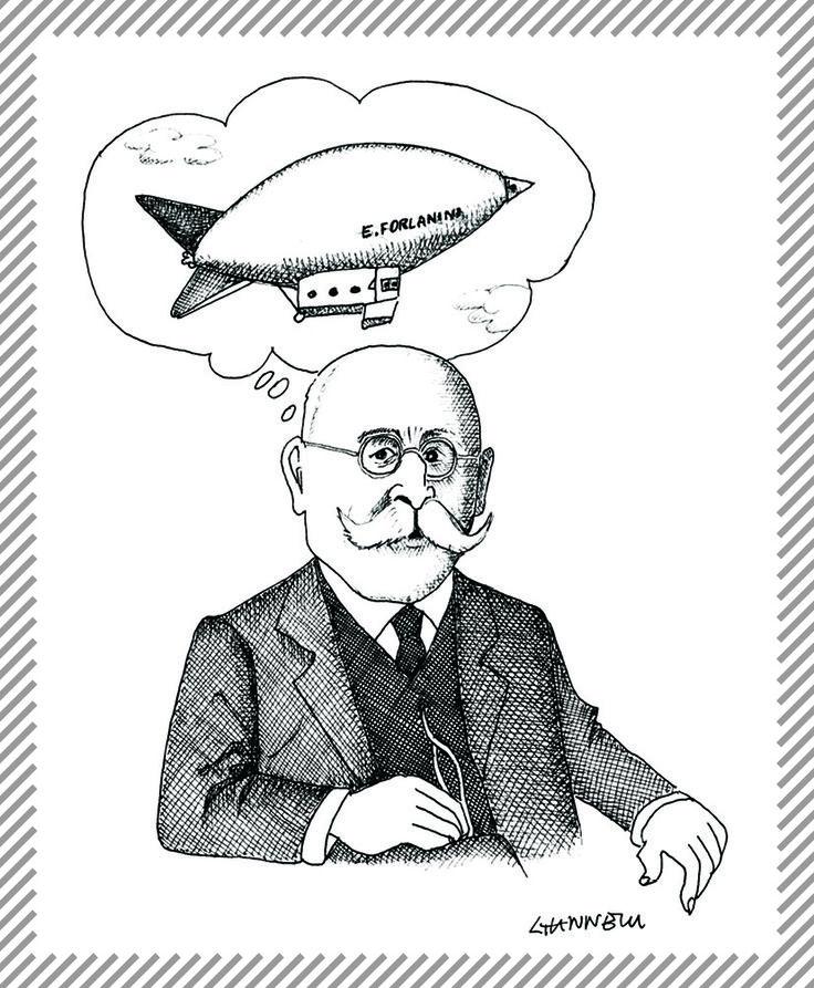 Enrico Forlanini, 1848 - 1930, ingegnere e pioniere dell'aviazione. Passò alla storia per aver inventato l'aliscafo. Nel 1877 realizzò il primo elicottero con motore a vapore, cui seguirono gli studi e la realizzazione dei primi dirigibili. A lui è intitolato l'aeroporto di Milano-Linate. #AlbumMilano #idroscafo