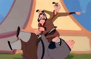 *YAO BOW, LING & CHIEN PO ~ Mulan, 1998