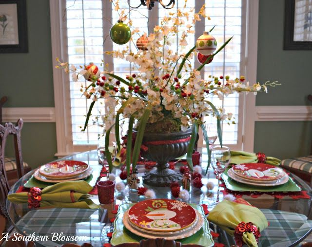 A Southern Blossom: Christmas in the Kitchen