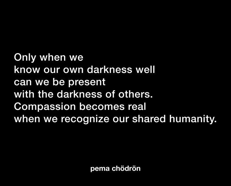 Pema Chodron på medkänsla: