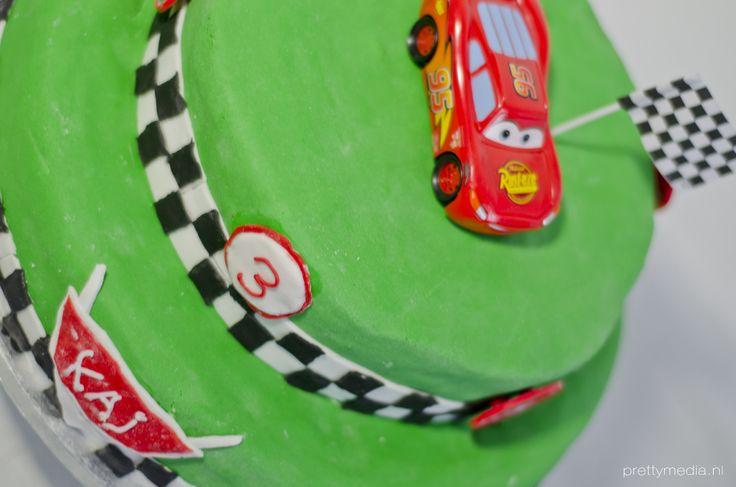 Verjaardagstaart Cars 3
