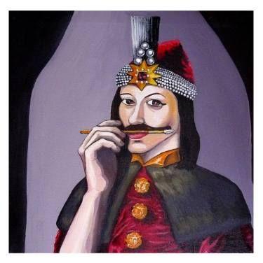 Self portrait as Vlad Tepes