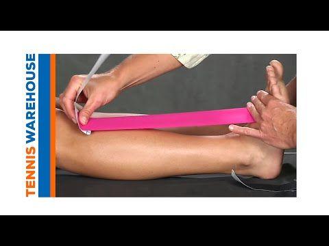 Kinesio Taping for Shin Splints - YouTube