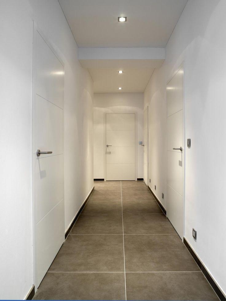 Nordex binnendeur draaideur moderne deur g 204 lak colors verf behang decoratie - Moderne entree decoratie ...