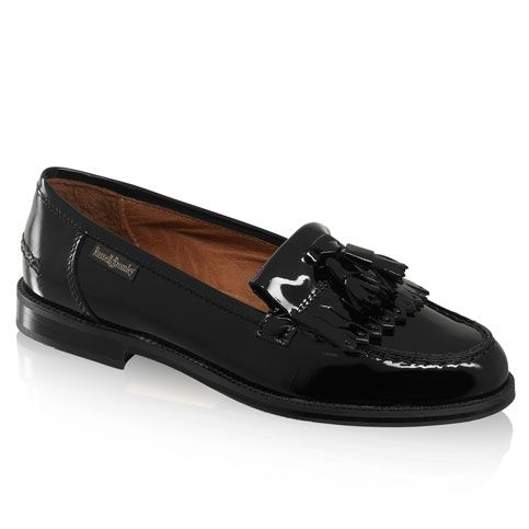 Chester tassel loafer by Russell & Bromley.