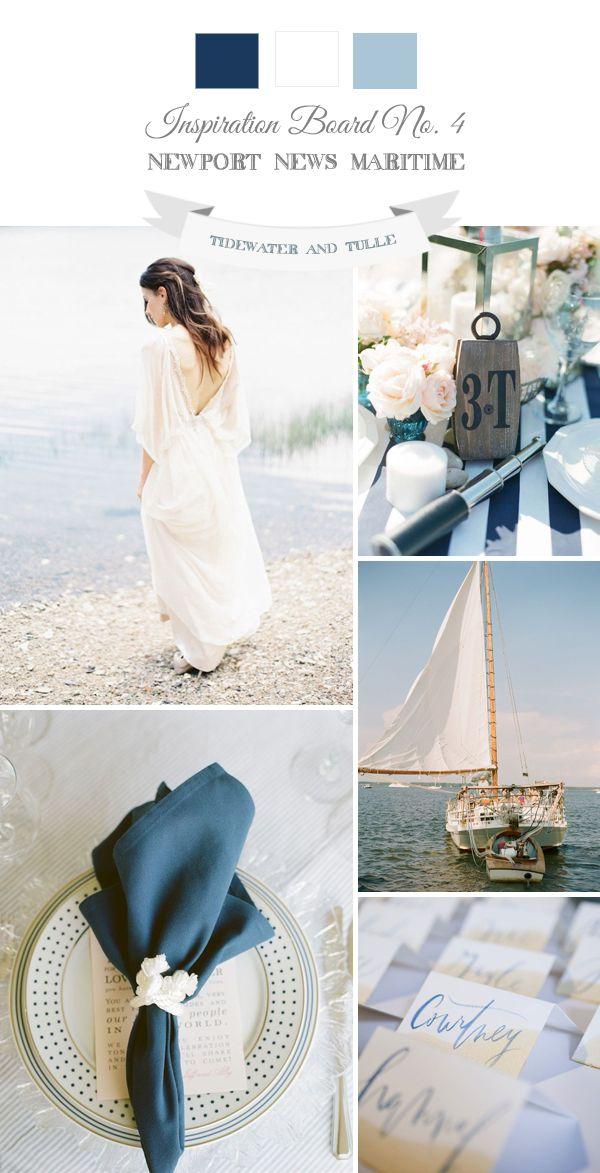 Tidewater and Tulle   A Hampton Roads Virginia Wedding Inspiration Blog: Newport News Maritime Wedding Inspiration