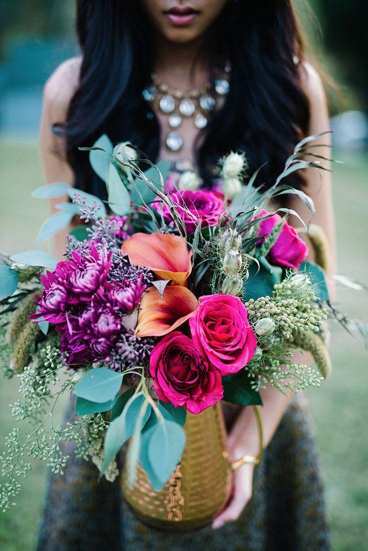 271 best the bouquet jewel tones images on pinterest modern boho glam wedding ideas izmirmasajfo