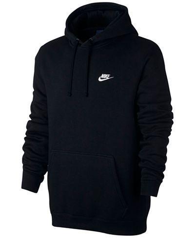 Nike Men's Pullover Fleece Hoodie - Hoodies & Sweatshirts - Men - Macy's