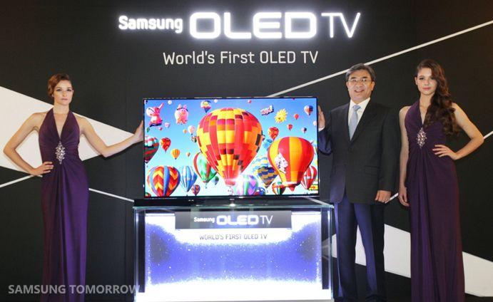 De eerste 55' OLED tv!