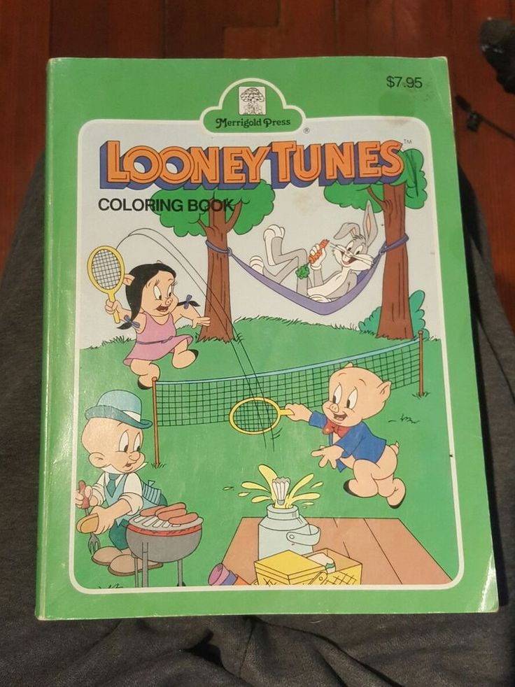 Cool Large Coloring Book 48 Looney Tunes Large Coloring
