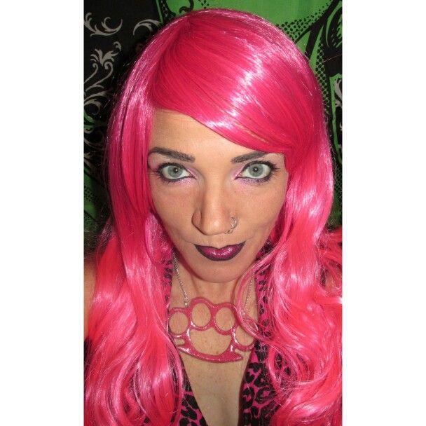Makeup -  Pink and Black