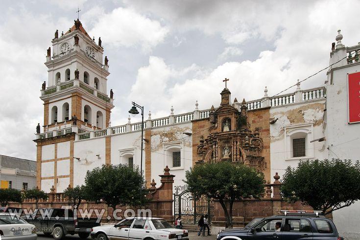 CATEDRAL BARROCA DE SUCRE. BOLIVIA.