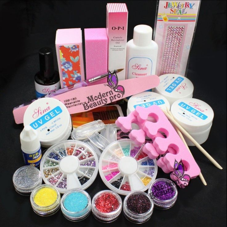 49 best acrylic powders images on pinterest acrylics acrylic pro full acrylic glitter powder glue french nail art uv gel tip kit set 168 prinsesfo Images