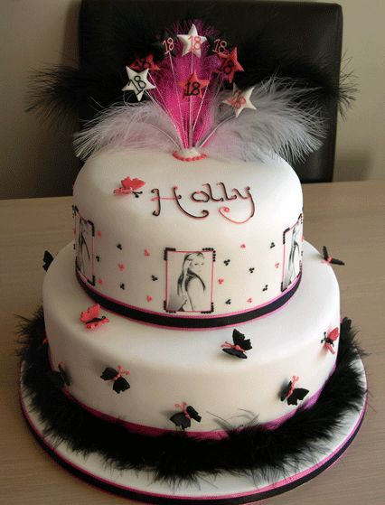 25 best ideas about 18th birthday cake designs on for 18th birthday cake decoration