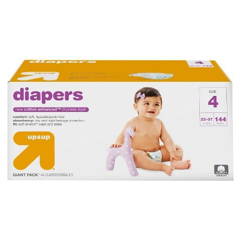 Disposable diapers are a very practical (and helpful) gift for B if you'd like to go the practical route. He's in size 4 and we buy the Up & Up brand from Target.