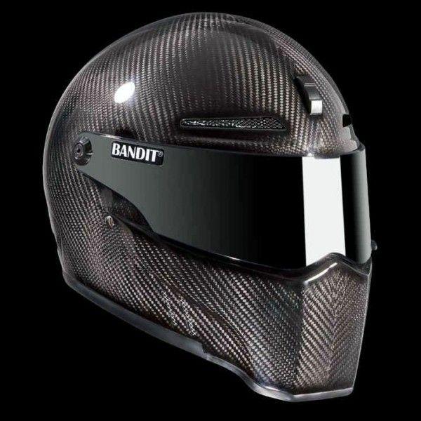 Casque Bandit Alien II Carbone