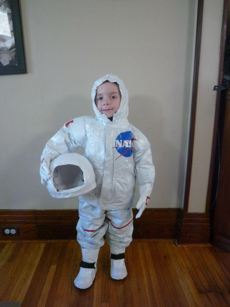 DIY childs costume 13 Astronaut  VBS Reachout Adventures Ideas  Diy astronaut costume
