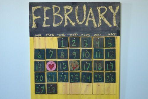 Handmade Calendar Tutorial : Best images about calendar frame plans on pinterest