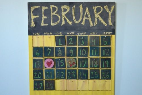 Handmade Calendar Tutorial : Images about calendar frame plans on pinterest