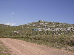 Cerro Catedral, en Maldonado (513 metros).