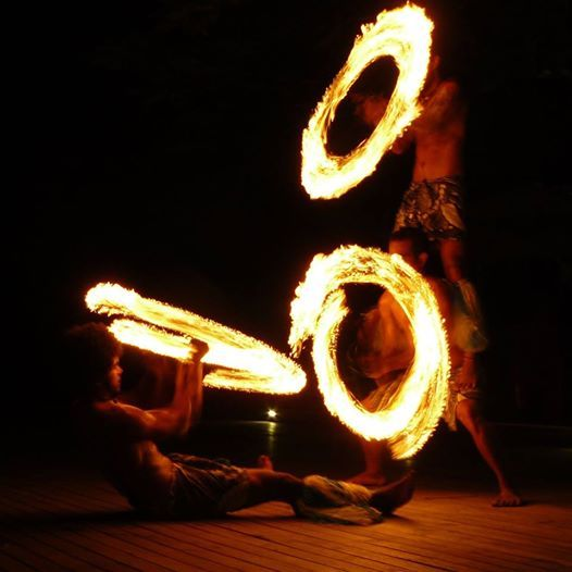 Spectacular Fire Shows at Treasure Island