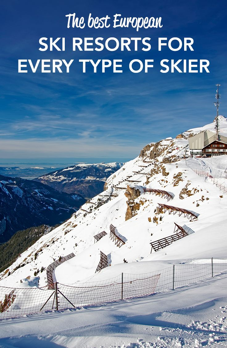 See the best ski resorts for every type of skier