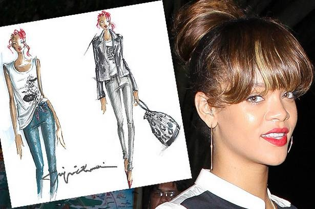 Ri gets set for Styled To Rock: Awsom Drawings