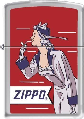 2013N ZIPPO 205 Windy Girl Red – Zippo