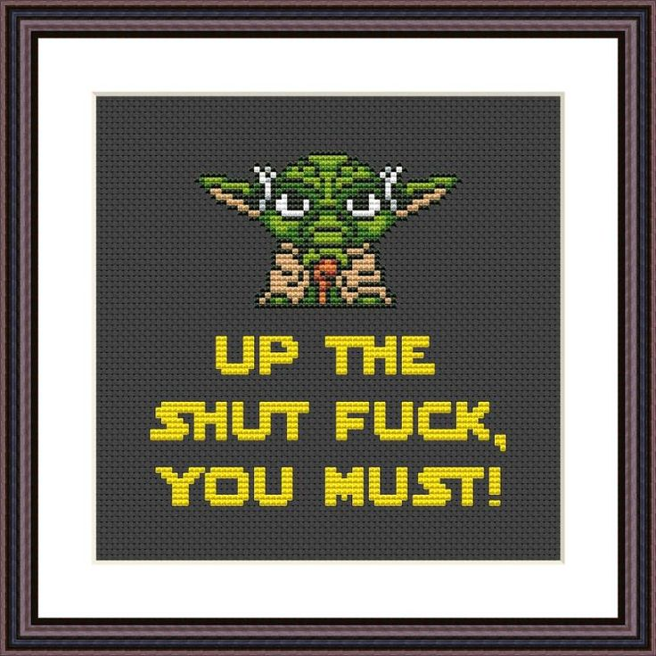 Yoda shut the fuck up