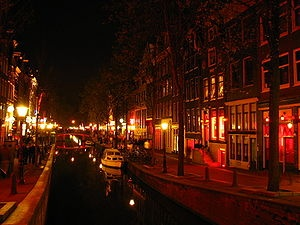 Amsterdam, Netherlands. This is the Red Light District... I had the absolute time of my LIFE in Amsterdam. Once in a lifetime experience.