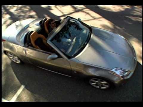 nissan 350z black convertible. video clip of nissan 350z roadster 2004 burnt orange and black grey interior tan 350z convertible