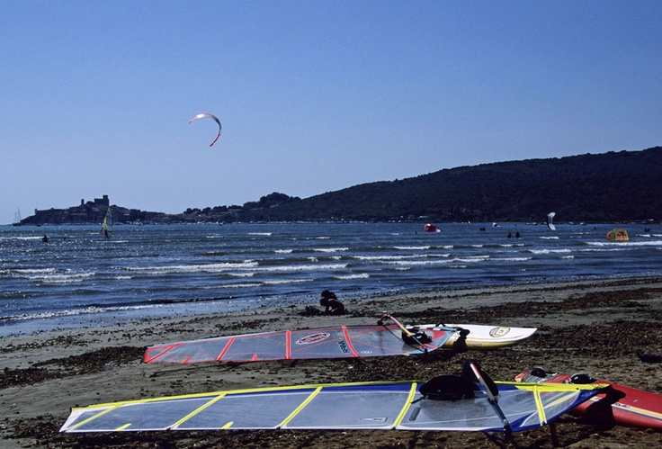Kitesurfing and surfing  #maremma #tuscany #sport
