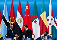 """""""With $20 Billion Loan Pledge, China Strengthens Its Ties to African Nations"""" by Jane Perlez (N.Y. Times). BEIJING — President Hu Jintao said Thursday that China would lend $20 billion to African governments for infrastructure and agriculture in the next three years, in a speech to a gathering of African leaders."""