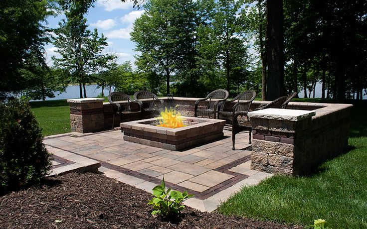Paver Patio: Extend your outdoor entertainment all winter long with a custom built outdoor fireplace and all season long enjoy a great place to have backyard cookouts. Imagine elaborate meals on the grill or just simple cookouts . Your guests and family will enjoy a great gathering place.
