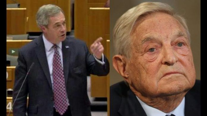 The world needs to wake up to who Soros really is says Farage