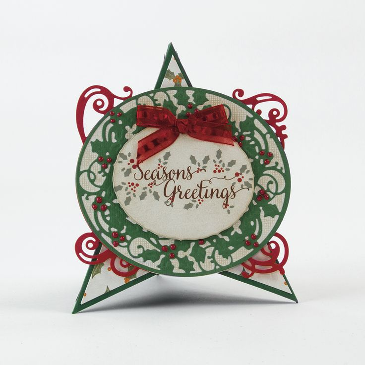 Christmas Frames - Holly Vine Die Set - 1370E
