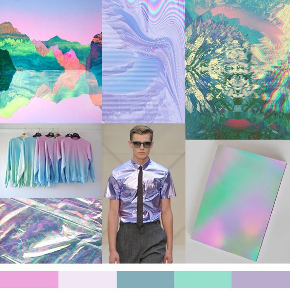 pattern people color iridescent Color | Iridescent Shades