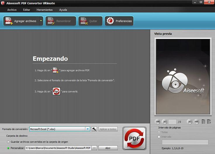 Best 25 converter pdf ideas on pinterest graficos excel grade lanzan aiseesoft pdf converter ultimate en espaol httpwebadictos fandeluxe Images