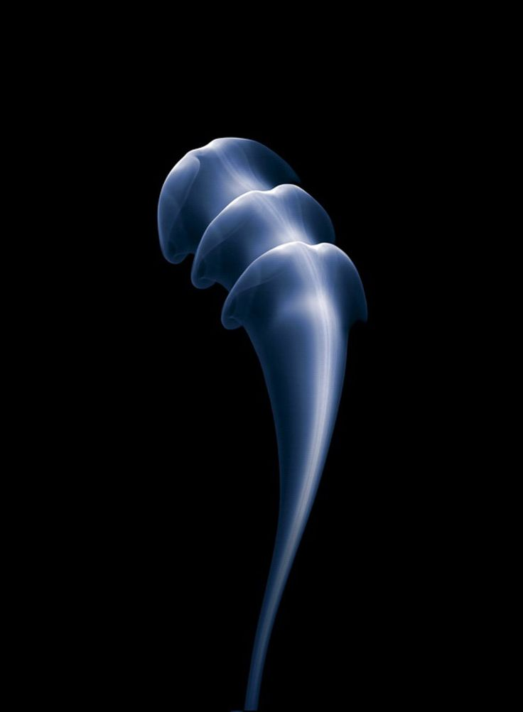 Thomas Herbrich's gorgeous smoke photographs aren't just works of art, they're testaments to his extraordinary dedication to his art. It took Herbrich 3 months and 100,000 photos until he had just 20 that he considered worth showing to the world.