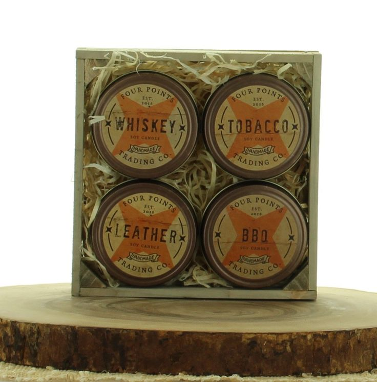 Rustic Remembrance Candle Gift Set