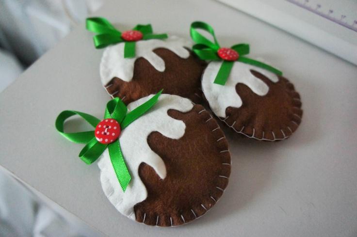 Handmade Christmas Puddings