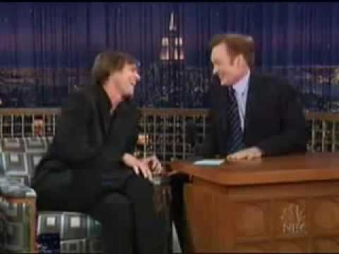 This is hilarious - Late night Show Conan with Jim Carrey https://www.youtube.com/watch?v=dHgXT4say0I