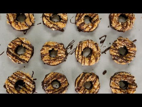 Homemade Samoas Girl Scout Cookies Recipe | Get the Dish - YouTube