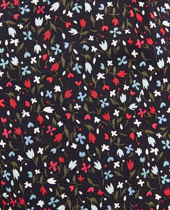 Immagine 7 di PANTALONI STAMPATI CON CINTURA COMBINATA di Zara