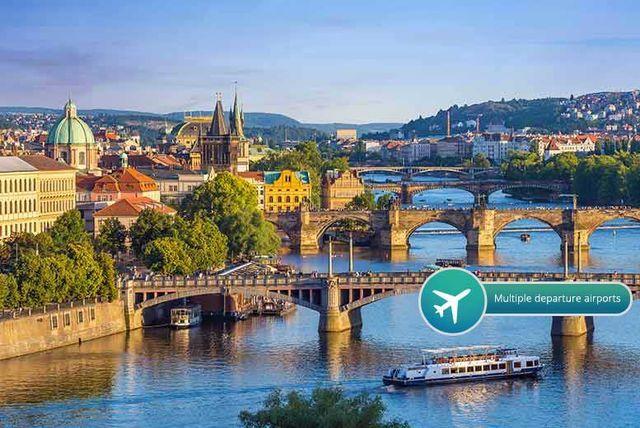 2-3nt 4* Boutique Prague Spa, Flights